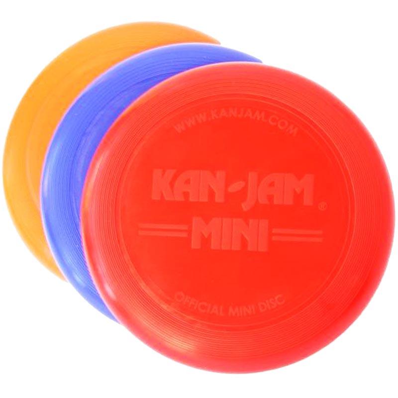 KanJam Mini Flying Discs Pack of 3