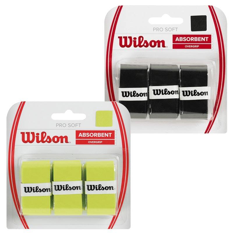 Wilson Pro Soft Overgrip 3 Pack