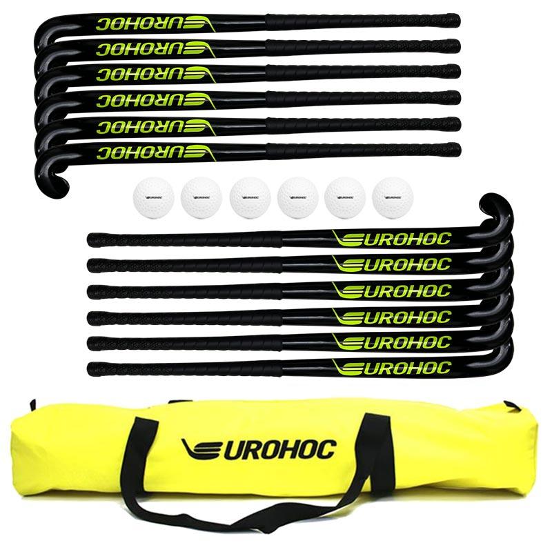 Eurohoc Club Hockey Stick Set