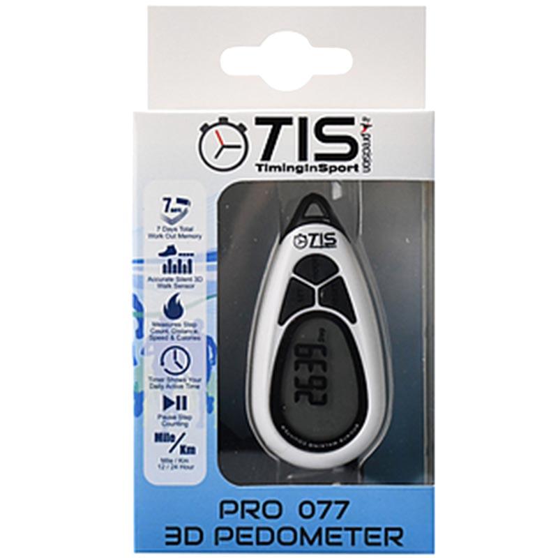 TIS Pro 077 3D Pedometer