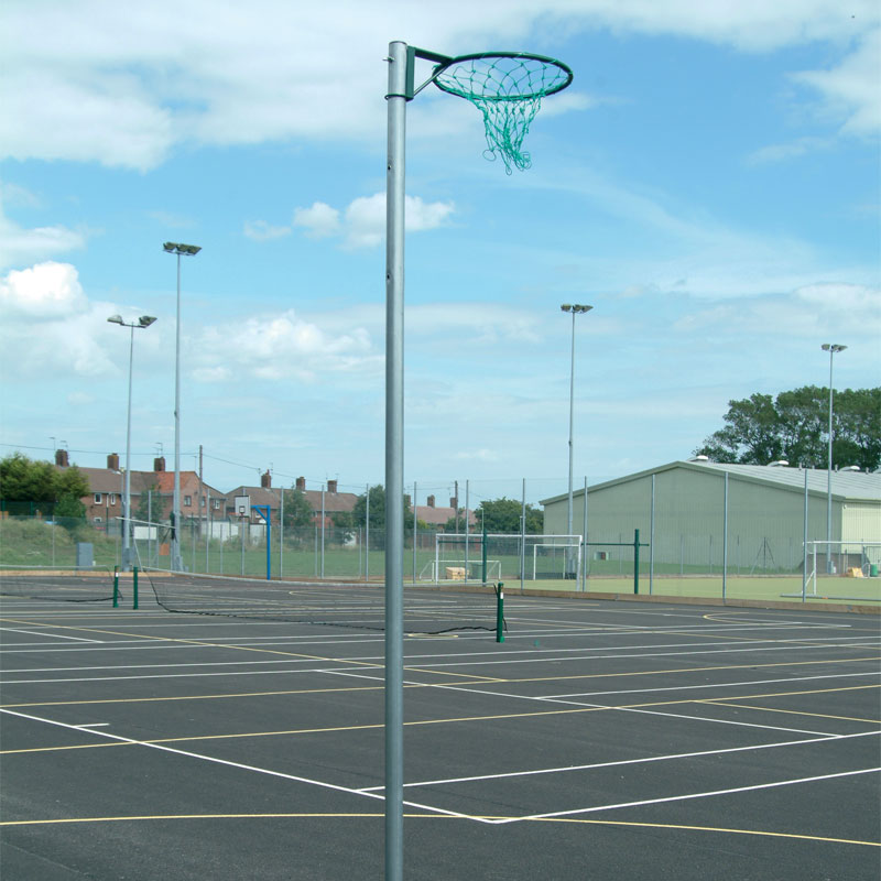 Harrod Sport Socketed Netball Posts
