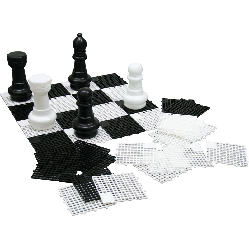 First Play Maxi Chess and Draughts