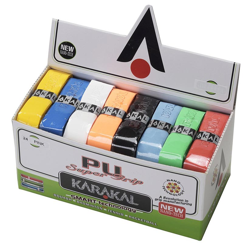 Karakal PU Super Racket Grip 24 Pack