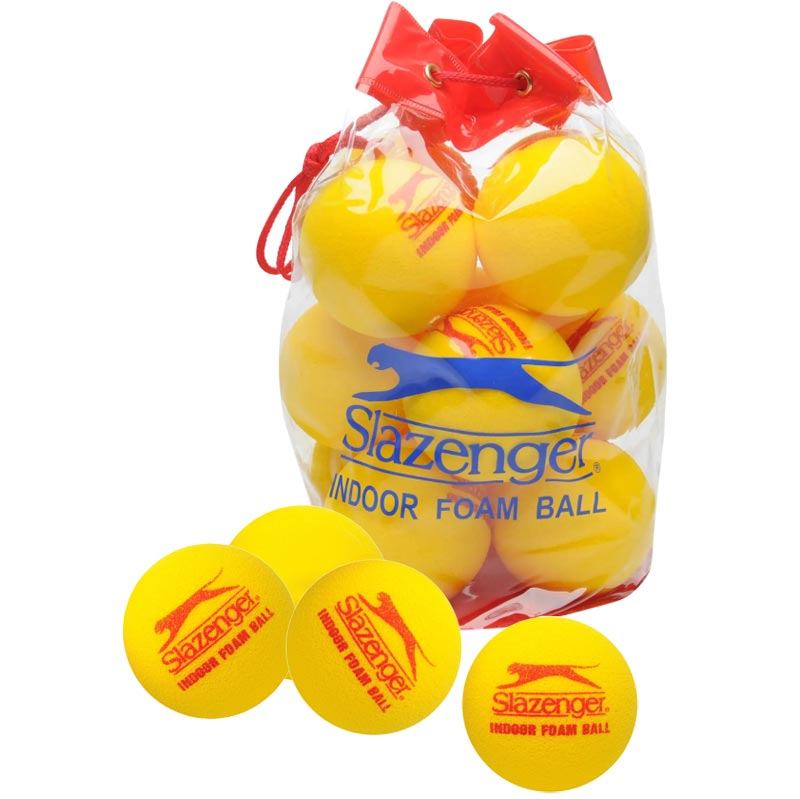 Slazenger Indoor Foam Ball 12 Pack