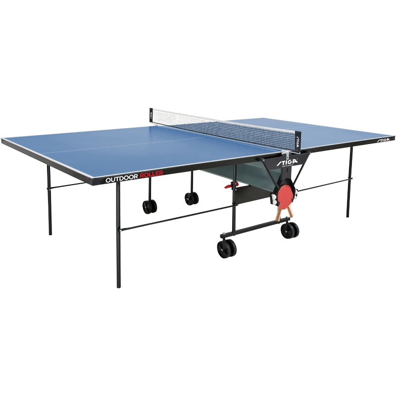 Stiga outdoor rollaway table tennis table - Stiga outdoor table tennis table ...